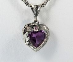 amethyst heart by Kate80-88