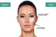 """Conturing is a great technique for standard and latin makeup. Much like stage makeup, an """"overdone"""" look is often need on the ballroom floor. Visit http://ballroomguide.com/comp/hair_make_up.html for more hair and makeup info"""