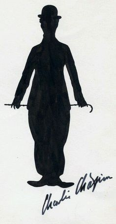 Charlie Chaplin - this will be my Charlie Chaplin tattoo!!