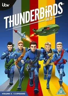 Original Television Soundtrack (OST) from the TV series Thunderbirds Are Go - Volume 2 Music composed by Ben Foster & Nick Foster. Volume 2 Soundtrack by and Angel Coulby, Thunderbirds Are Go, Soundtrack Music, Original Music, Animation Series, The Fosters, Movie Tv, Tv Series, Tv Shows