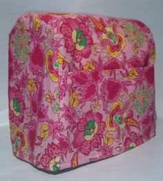 Pink Floral Cover for 4.5 & 5qt Kitchenaid by PennysNeedfulThings, $12.99