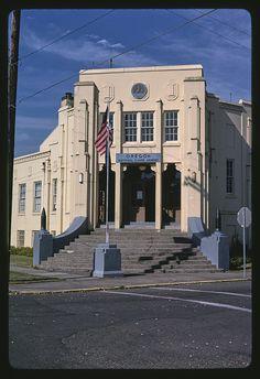 Oregon National Guard Armory, Washington and 7th Streets