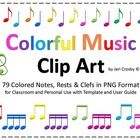 These images will allow you to create your own colorful, musical materials for printing, scrapbooking, digital projection, classroom instruction or...