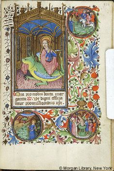 Book of Hours, MS M.64 fol. 130r - Images from Medieval and Renaissance Manuscripts - The Morgan Library & Museum