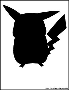 :::: PINTEREST.COM christiancross :::: Pokemon Silhouette Images & Pictures - Becuo