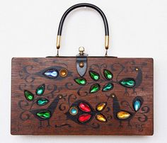 Enid Collins 1965 Fauna Box Bag by niwotARTgallery on Etsy, $160.00