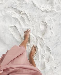 unplug at the beach and walk on white sand