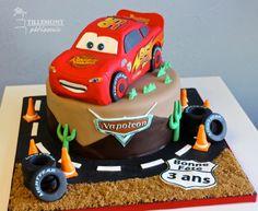 Flash McQueen 3D - Childrens Cakes | Patisserie Tillemont | Montreal