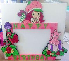 Strawberry Shortcake Photo Frame Party Prop