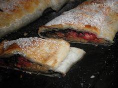 Jahodový jablčník (fotorecept) - recept   Varecha.sk Sandwiches, Food, Basket, Essen, Meals, Paninis, Yemek, Eten