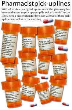 Pharmacy pick up lines