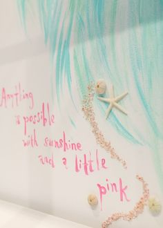 Wall detail at our newest Lilly Pulitzer store at Coconut Point in Estero, FL.