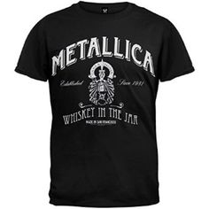 Metallica whiskey in the jar men's tee Brand new.mens size small Tops Tees - Short Sleeve