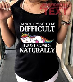 Are you looking for Funny T Shirts Hilarious and Funny Phone Cases or Sarcastic Funny T Shirts For Women Fashion? You are in right place. Your will get the Best Cool Funny T ShirtsWomens Fashion in here. We have Awesome Shirt Style with 100% Satisfaction Guarantee on T Shirts Season. Printed in a different high resolution using proprietary color transfer technology in the USA. Lasting of hundred washes Guaranteed. Unicorn Outfit, Unicorn Shirt, Unicorn Gifts, Funny Shirt Sayings, Funny Tees, Shirts With Sayings, Funny Phone Cases, Custom Tees, Cool Shirts