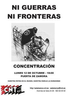 NUESTRA PATRIA ES EL MUNDO - NUESTRA FAMILIA LA HUMANIDAD | CNT Puerto Real