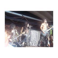 Black Veil Brides Warped Tour 7/26/11 ❤ liked on Polyvore