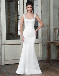 Style 9801 Beaded Lace A Line Accented With Sweetheart Neckline Justin Alexander Signature In My Dreams Pinterest Lique Weddings And