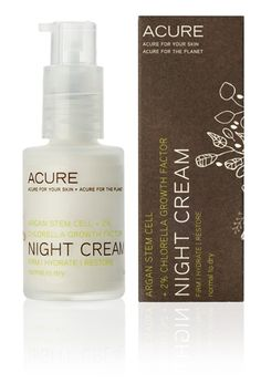 Nature's nocturnal miracle! Age-fighting Argan Stem Cells, shown to help the skin's natural repair process, firm and moisturize while 2% Chlorella Growth Factor fortifies collagen and elastin fibers. Hydrating Moroccan Argan Oil seals the deal, truly making this nature's own skin rejuvenating system.