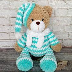 Crochet doll blanket teddy bears ideas for 2019 Crochet Teddy Bear Pattern, Crochet Animal Patterns, Crochet Bunny, Stuffed Animal Patterns, Crochet For Kids, Crochet Animals, Amigurumi Patterns, Crochet Dolls, Amigurumi Doll