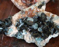 Rare Black Crystals Terminated Fluor richterite por FenderMinerals