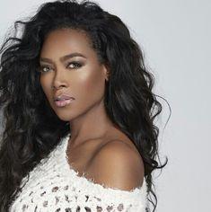 Kenya Moore - that skin!!!