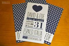 Convite – E+D | Noiva Diferente