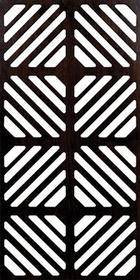 Decorative grille dxf File for free download download File