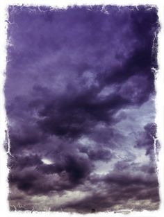 Purple haze clouds