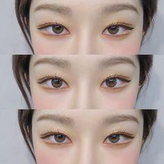 Ulzzang Korean Girl, Korean Makeup, Cool Tones, Pretty Eyes, Chinese Style, Natural Makeup, Eyeliner, Fashion Beauty, Hair Beauty