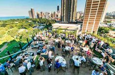 Whether you crave a new brunch spot, a chill lounge, or an open-air space to kick back with some tunes, there's a rooftop bar for you.