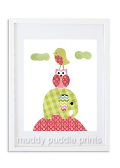 Nursery Decor Nursery art Nursery print Girls by MuddyPuddlePrints, $14.00