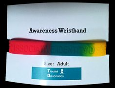 Dissociative Identity Disorder silicone wristbands for sale Feeling Down, How Are You Feeling, Disassociative Identity Disorder, Trauma, Ptsd, Stuck In A Rut, Dissociation, Hard Work And Dedication, Stress Disorders