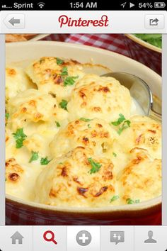 Oven Roasted Cauliflower Great Healthy Side Dish