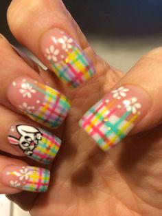 Easter nails! Easter Nail Designs, Easter Nail Art, Nail Designs Spring, Toe Nail Designs, Really Cute Nails, Love Nails, Fun Nails, Gorgeous Nails, Pretty Nails