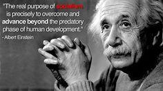 socialist, Albert Einstein... - (genius)(progressive)(quote)