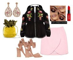 """""""Untitled #490"""" by d3finedimage on Polyvore featuring Carven, River Island, Gianvito Rossi, NYX and Luxiro"""