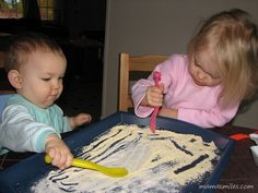 texture play for babies and toddlers