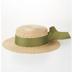 f2ebc116d91d0 Ribbon boater hat for women travel summer straw hats for sun protection