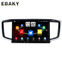 10.1inch Quad Core Android 4.4 Car Stereo Radio For Honda Odyssey 2015 Car PC Audio Mirror Link With GPS Navigation