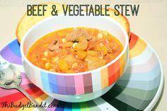 Beef and Vegetable Stew Recipe (Gluten Free) #recipe #yum #love