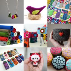 one of these crafts is a felt owl smartphone cover. It reminds me of someone I know...