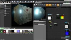 Using a Substance in Unreal Engine 4