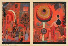 Paul Klee - Flower Gardens in Taora - 1918