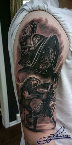 f068ed71de46f 12 Best gladiator tattoos images in 2019   Gladiator tattoo, Awesome ...