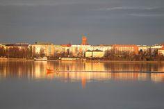 Silhouette of Vaasa, www.visitvaasa.fi, Photographer: Jaakko J Salo