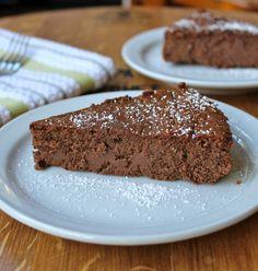 4 Ingredient Chocolate Cheesecake
