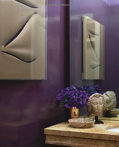Powder Bath; Framed Art ...... Beauty at Home: Aerin Lauder: 9780770433611: Amazon.com: Books
