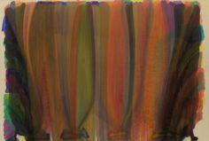 Morris Louis, Saraband, 1959. Acrylic resin on canvas, 8 feet 5 1/8 inches x 12 feet 5 inches (256.9 x 378.5 cm)