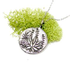 Succulent Cactus Pendant, Plants, Silver Succulent, desert plants, plant lover, gift for her, silver medallion Cow Skull, Planting Succulents, Succulent Plants, Owl Pendant, Desert Plants, Flower Mandala, Cactus, Hand Carved, Christmas Bulbs