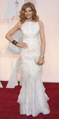 Rene Russo's Oscar dress. If I had a 2nd wedding today, I'd wear this. Love it!